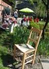 Gartenpartie in Cloppenburg – Stuhlmodell Hatten