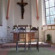 Hüttener Kirche – Traustühle Modell Rosette