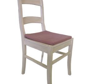 Küchenstuhl mit Holzsitz